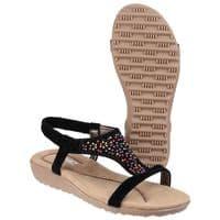 Fleet & Foster Nicosia Sandal Ladies Summer Black